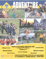 Cub Scout Program Flyer